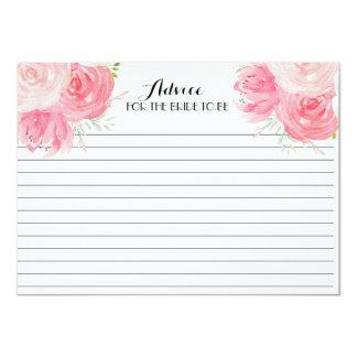 O rosa floresce cartões florais bonitos do