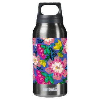 O rosa floresce garrafa fumado de Sigg da pérola