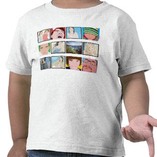O roupa dos miúdos personalizados foto do mosaico  camiseta