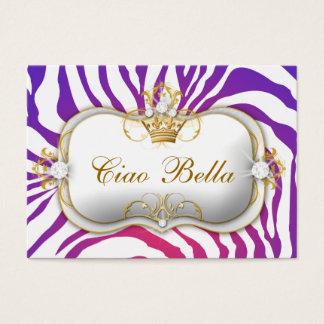 o roxo de 311-Ciao Bella desvanece-se cartão da