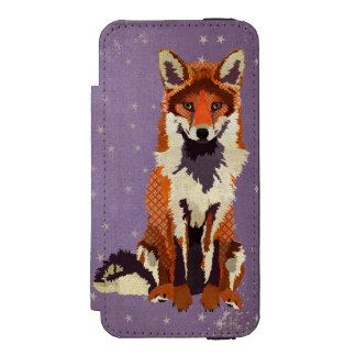 O roxo do Fox Stars a carteira do iPhone