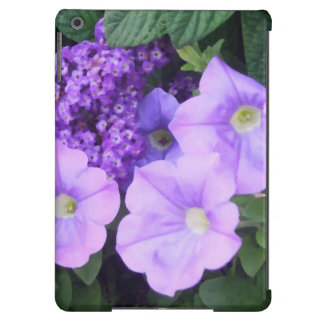 O roxo do Lilac floresce a caixa do iPad floral Capa Para iPad Air