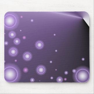 O roxo ilumina Mousepad