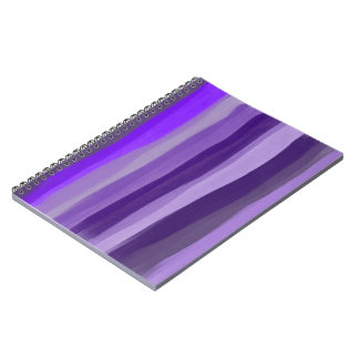 O roxo protege o caderno