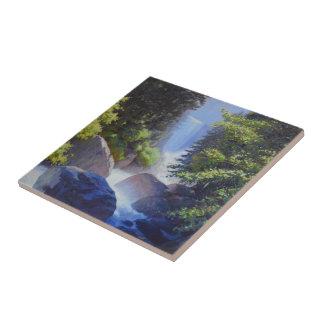 O rugido maravilhoso do azulejo da névoa