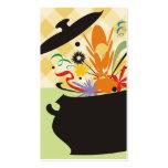 o sabor do pote do cozinhar estourou o negócio de cartão de visita