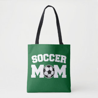O saco das mulheres da mamã do futebol bolsa tote
