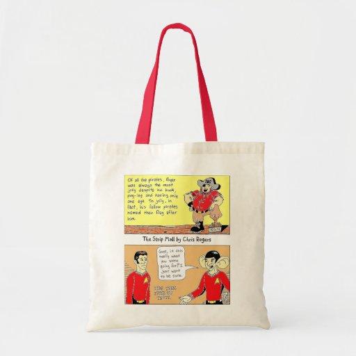 O saco de compras reusável da alameda de tira bolsa de lona