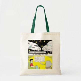 O saco de compras reusável da alameda de tira bolsa para compras