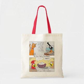 O saco de compras reusável da alameda de tira sacola tote budget