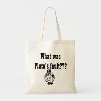 O saco de Pluto do planeta Bolsa
