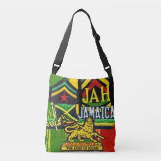 O saco de Rasta dos Steppers da reggae cruza sobre Bolsas Carteiro