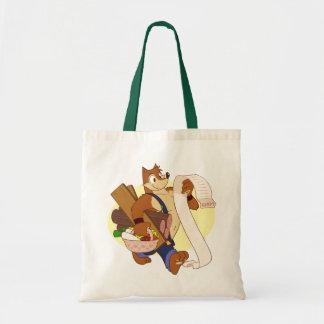 O saco de Wuffle Sacola Tote Budget