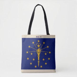 O saco do mercado do bolsa de pano de Indiana