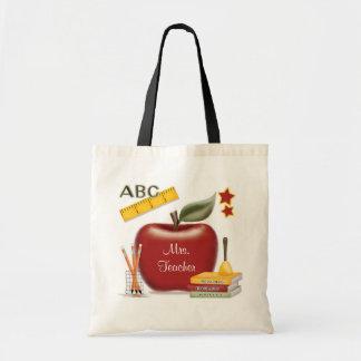 O saco do professor personalizado sacola tote budget