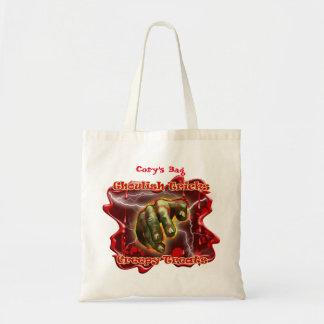 O saco dos doces do Dia das Bruxas do bolsa do