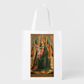 """""""O saco reusável do Virgin e da criança"""" Sacolas Ecológicas"""