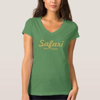 O Safari da senhora - folha Camiseta