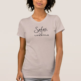 O safari é um estilo de vida camisetas