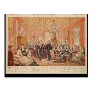 O salão de beleza de Victor Hugo Cartao Postal
