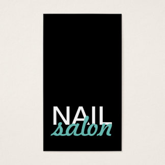 o salão de beleza do prego manicures o cartão de