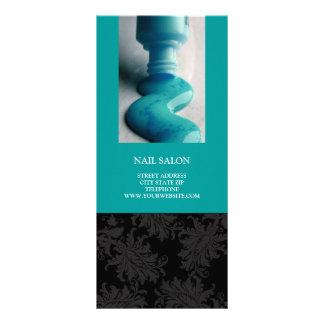 O salão de beleza do prego presta serviços de manu panfleto informativo