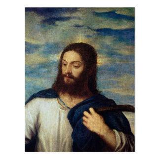 O salvador, c.1553 cartão postal