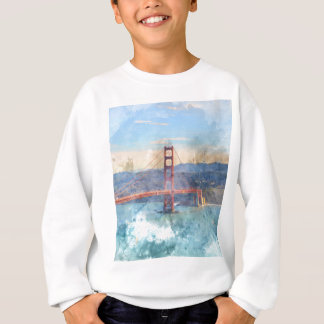 O San Francisco golden gate bridge em Califórnia Agasalho