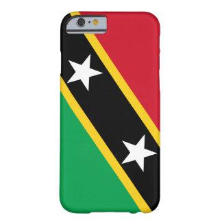O santo Kitt & Nevis embandeira a capa de telefone