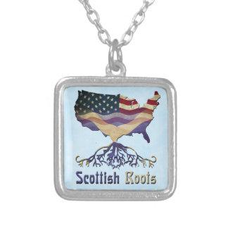 O Scottish americano enraíza a colar