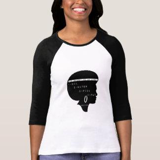 O segredo de um Afro Camiseta
