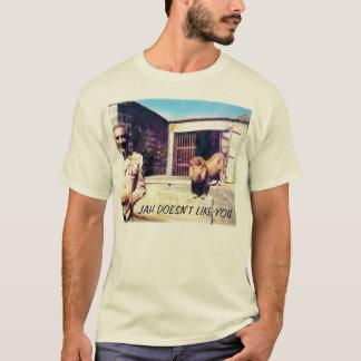 o selassie-leão, JAH NÃO GOSTA DE VOCÊ Camiseta