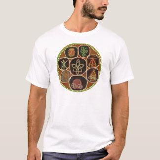 O SELO de CURA:  Emblema de Karuna Reiki Camiseta