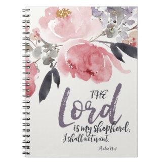 O senhor é meu caderno do pastor