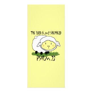 O SENHOR é minha t-camisa U da criança do salmo 23 10.16 X 22.86cm Panfleto
