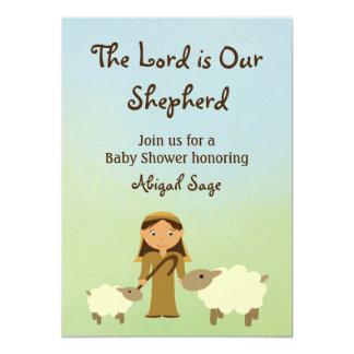 O senhor é nosso carneiro que do pastor o chá de convite 11.30 x 15.87cm