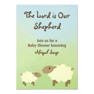 O senhor é nosso carneiro que do pastor o chá de convites