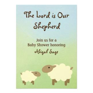 O senhor é nosso carneiro que do pastor o chá de f convites
