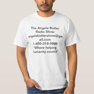 O show radiofónico do mordomo de Angela Camiseta