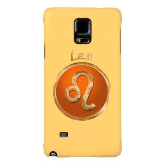 O símbolo astrológico do leão   Leo Capas Galaxy Note 4