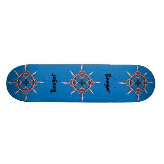 O skate (comp(s)) - cruze no círculo com pontos