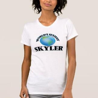 """O Skyler o mais """"sexy"""" do mundo Tshirts"""