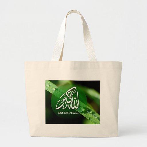 O slogan Allah do Islão é o grande Bolsas De Lona