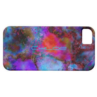O smartphone de Chloe encaixota o cobrir colorido Capa Barely There Para iPhone 5