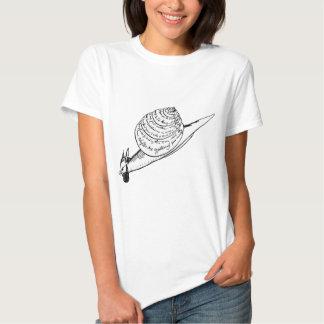 O snail mail de Edward Lear Tshirts