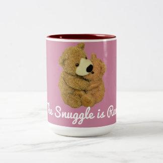 O Snuggle é caneca real