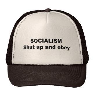 O socialismo - fechado acima e obedece bones