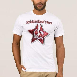 O socialismo não trabalha a camisa clássica do