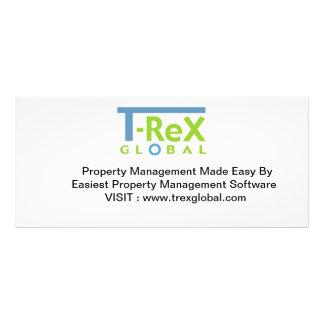 O software da gestão da propriedade simplifica-os panfleto informativo
