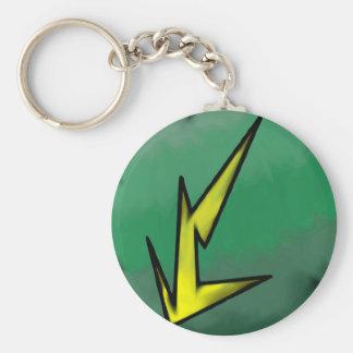 O solteiro elétrico da afinidade tomou partido chaveiro